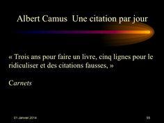 Albert Camus (1913-1960) n° 55