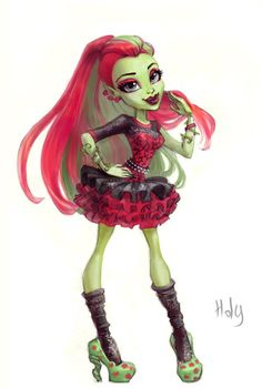 Venus McFlytrap Ghouls Night Out by Holivi
