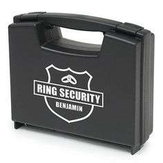 Fill this handsome Ring Bearer Carrying Case for your Ring Bearer Ring Security with those special goods for the wedding day. Use for the wedding photo shoot an
