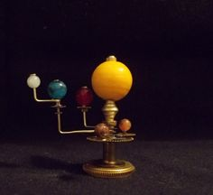 Another dollhouse orrery--perhaps for especially geeky, steampunky, gothy dolls.