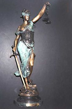 LAW~Lady Justice statue