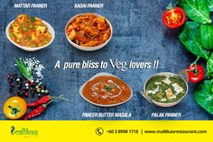 Come and experience the rich Indian cuisine @ MallikasRestaurant   #kualalumpur #IndianCusine #party #fun #family #gettogether #NorthIndian #SouthIndian #Food #Lunch #Dinner #bukitjalil Book a Table for dine in NOW !!