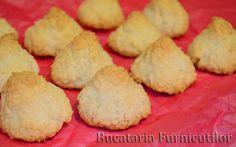 Bucataria Furnicutilor: Biscuiti cu Cocos Muffin, Treats, Cookies, Breakfast, Desserts, Food, Sweet Like Candy, Crack Crackers, Morning Coffee