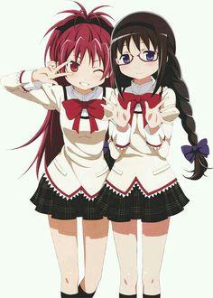 Sakura Kyoko&Akemi Homura