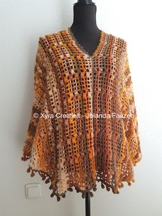 #PATR1085 #Omslagdoek #haakpatroon #patroon #haken #gehaakt #crochet #pattern #shawl #poncho #sweater # trui #shirt #swoncho #DIY #mouwen #sleeves Patroon (NL) is beschikbaar via: Pattern (English-US) is available at: www.xyracreaties.nl www.ravelry.com/stores/xyra-creaties www.etsy.com/shop/XyraCreaties