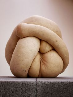 """NUD (3)"" - Sarah Lucas (stuffed-sock sculpture, 2009)"