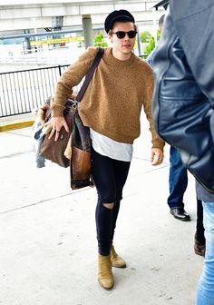 Harry at JFK airport, May 9.