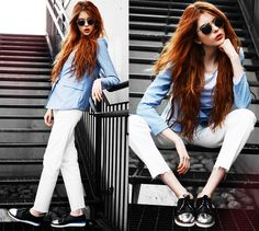 Le Bunny Bleu Shoes, 5preview Blazer, Getwear Jeans, E Glasses Sunnies