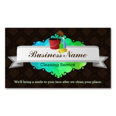 Keep calm and call a cleaning lady business card pinterest great house cleaning business cards reheart Gallery