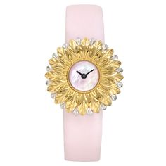 Buccellati Anthochron Bellis Quartz Yellow & White Gold