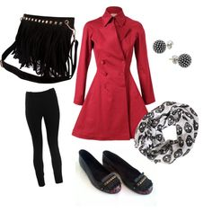 """""""dupla ideal: red black con tus BONNY by MULÍ"""" by unanewsmile on Polyvore"""