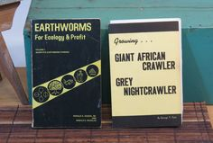 2 Books Growing Giant African and Grey by 13thStreetEmporium, $40.00