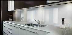 Küche wandpaneele glas  Lustrolite Kitchen Panels | Pinterest