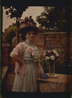 vintage everyday  Autochromes from 1910s Belle Epoque, Vintage Colors,  Vintage Photographs, Vintage 90a372001c2