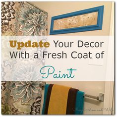 Frugal Mom and Wife: Update Your Decor With A Fresh Coat Of Paint!