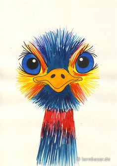 Bunter Emu