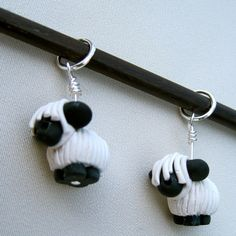 No way! These are the cutest stitch markers ever!