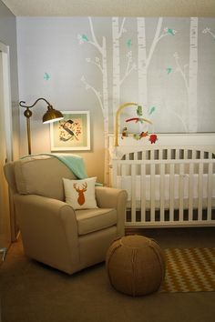 Quinn's Nursery... ready for baby!