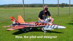 RC Jet -   F18 Hornet  by Stefan Gampp