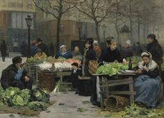 Los mercados de Victor Gabriel Gilbert