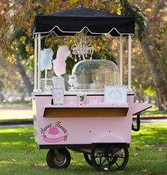 cotton candy, cart, birthday party vendors, wedding vendors, los angeles, san fernando valley