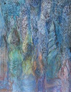 """Saatchi Art Artist Ks KS; Painting, """"apocalypse"""" #art"""
