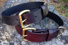 Hey, I found this really awesome Etsy listing at http://www.etsy.com/listing/112449588/classic-leather-dog-collar