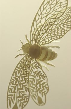 Paper Bee by Elsa Mora
