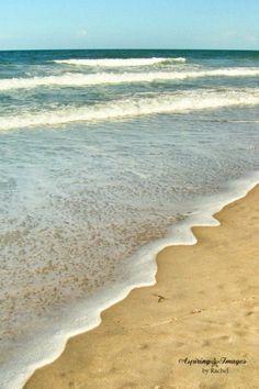 Right Along The Ocean's Edge - Indian Harbour Beach, Florida Atlantic Ocean 11x14 Fine Art Photograph - Aspiring Images via Etsy #fpoe
