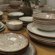 A big thank you to all of you who came to my pop up sale at @northcotepotterysupplies today an epic day! It was great to see so many faces some collectors some new.  you guys until next time enjoy your new pieces x S.S #brunswick#melbourne#plates#table#home by sarahschembri_ceramics