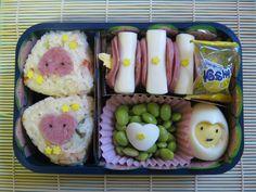 Valentine Year of Tiger Bento by LaFoi.deviantart.com on @deviantART