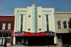 The old 'Dosta Theatre downtown Valdosta, GA