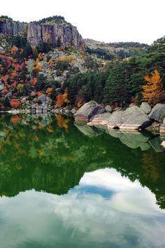 The black lagoon Places Around The World, Travel Around The World, Around The Worlds, Beautiful Places To Visit, Wonderful Places, Places To Travel, Places To Go, Magic Places, Spain Travel