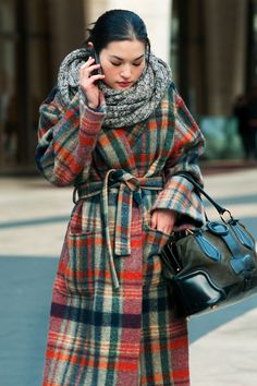 Beautiful winter style.