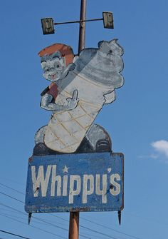 "Whippy's ""Ice Cream"" ~ Old Neon Sign"