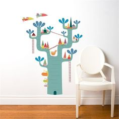 @rosenberryrooms is offering $20 OFF your purchase! Share the news and save!  Village in the Tree Wall Decal #rosenberryrooms