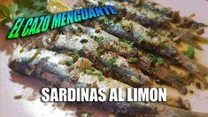 SARDINAS AL LIMON 🐟🍋, facilisima #receta con la que podras comer #sardinas en casa, super sabrosas y sin dejar olor a sardinas durante 3 dias. Entrees, Tasty, Recipes