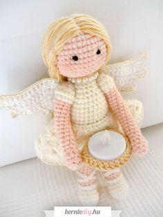 Easy Crochet Patterns, Amigurumi Patterns, Amigurumi Doll, Crochet Dolls, Yarn Crafts, Hello Kitty, Projects To Try, Teddy Bear, Cool Stuff