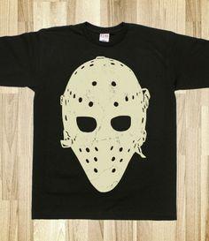 Vintage Hockey Goalie Mask T-Shirt