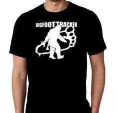 New Bigfoot Tracker Sasquatch Custom Tshirt by MarieLynnTshirt