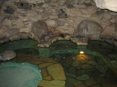 The Playboy Mansion Grotto; Marijuana growing around it when i was there in the early 80's