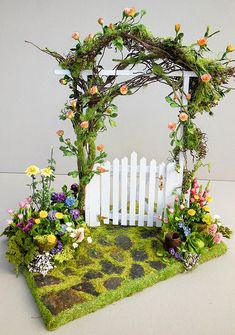 27 schne einfache diy fee garten ideen miniatur 12 maanitech com fairygarde diy miniature wheelbarrow fairy garden ideas and projects diy fairy garden ideas miniature projects wheelbarrow Garden Gazebo, Fairy Garden Houses, Diy Garden, Garden Crafts, Fairy Gardening, Fairies Garden, Vegetable Gardening, Organic Gardening, Container Gardening