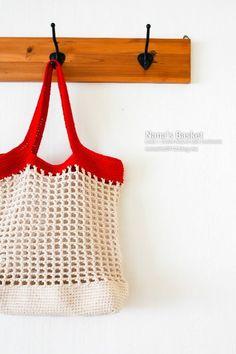 Knit Crochet, Crochet Bags, Straw Bag, Knots, Tote Bag, Knitting, Create, Crocheting, Macrame