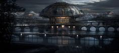 Sci-fi Art by Michael Tassie, United States. Download full-size image.