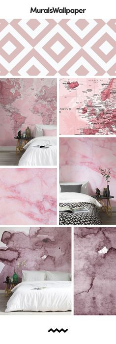 A Pink Wallpaper Mural can have a highly positive impact on your space, creating feelings of calmness, helping to alleviate stress and tension. The pink colour promotes feelings of love, playfulness and kindness while also bringing a clean and crisp finish. If you are looking for something sophisticated yet dramatic and exciting for a bedroom, dusky pink murals can offer this in a charming manner. Couple your mural with white or grey furniture to create a stylish, contemporary look.