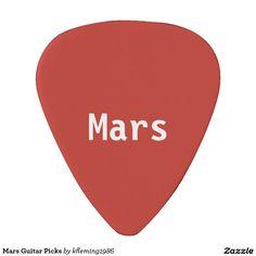 Mars Guitar Picks