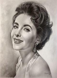 Elizabeth Taylor-Golden Era 3 by Hongmin.deviantart.com on @deviantART