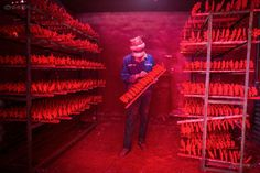 """Thousands of miles away from the North Pole, a """"Christmas Village"""" in China's Zhejiang province is filled with """"red factories"""" that produce Christmas products for the whole world."""