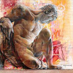 Autor: PichiAvo Título: street art Vicar Hip Hop Street, Vicar, Almería 2014 Técnica: Spray