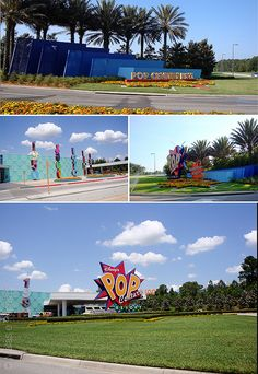 O que achamos do Pop Century Resort, na Disney.